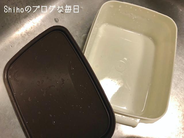 キュキュット泡スプレー 弁当箱