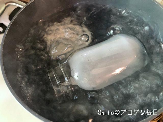瓶の煮沸方法