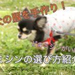 手作りの犬の服