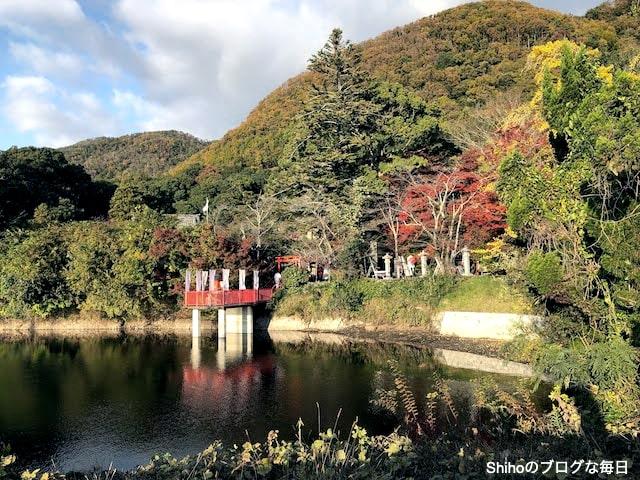 出雲大神宮の紅葉