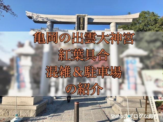 亀岡出雲大神宮の紅葉
